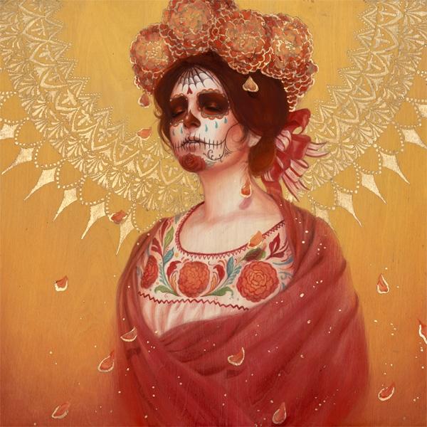 Marigold Catrina Fine Art Print