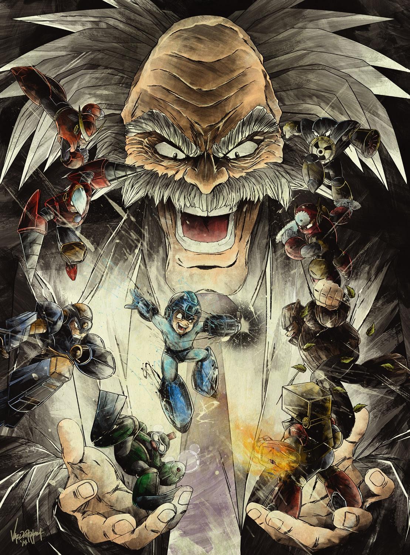 Mega Man Print