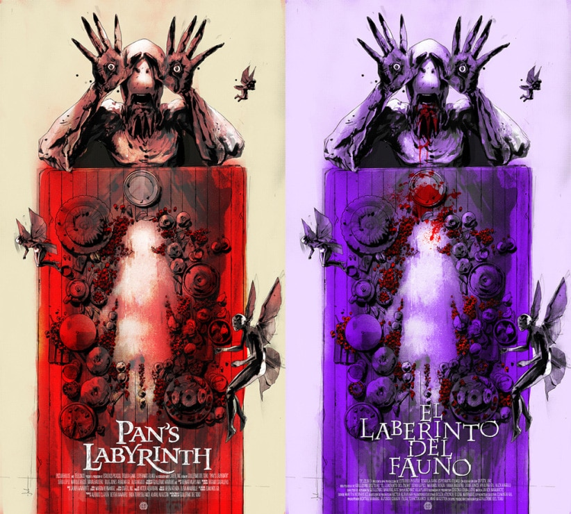Pan's Labyrinth Movie Poster Prints from Jock