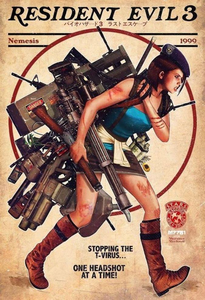 Resident Evil 3 Print
