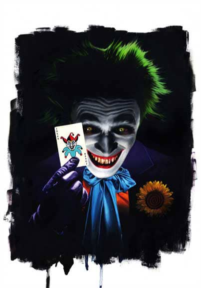 The Joker Print by David Stoupakis