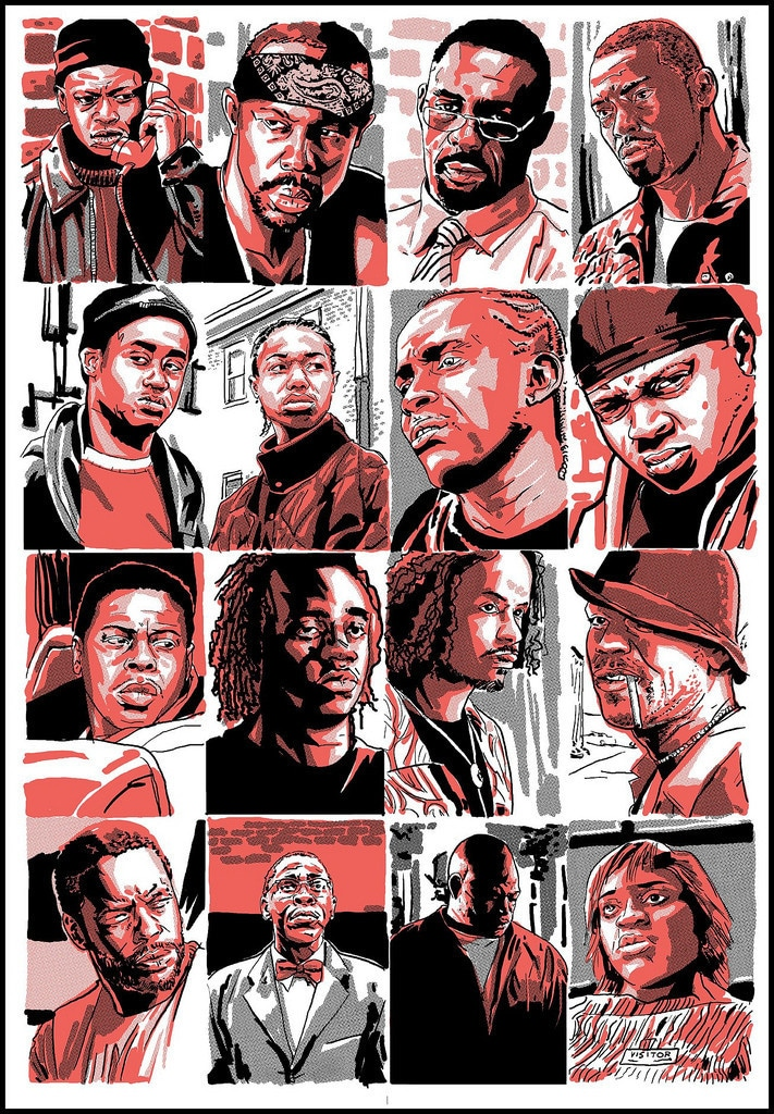 The Wire Character Profile Prints 4