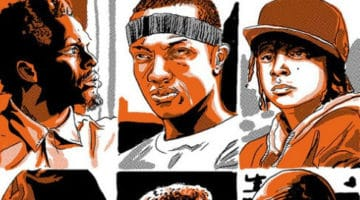 The Wire Character Profile Prints