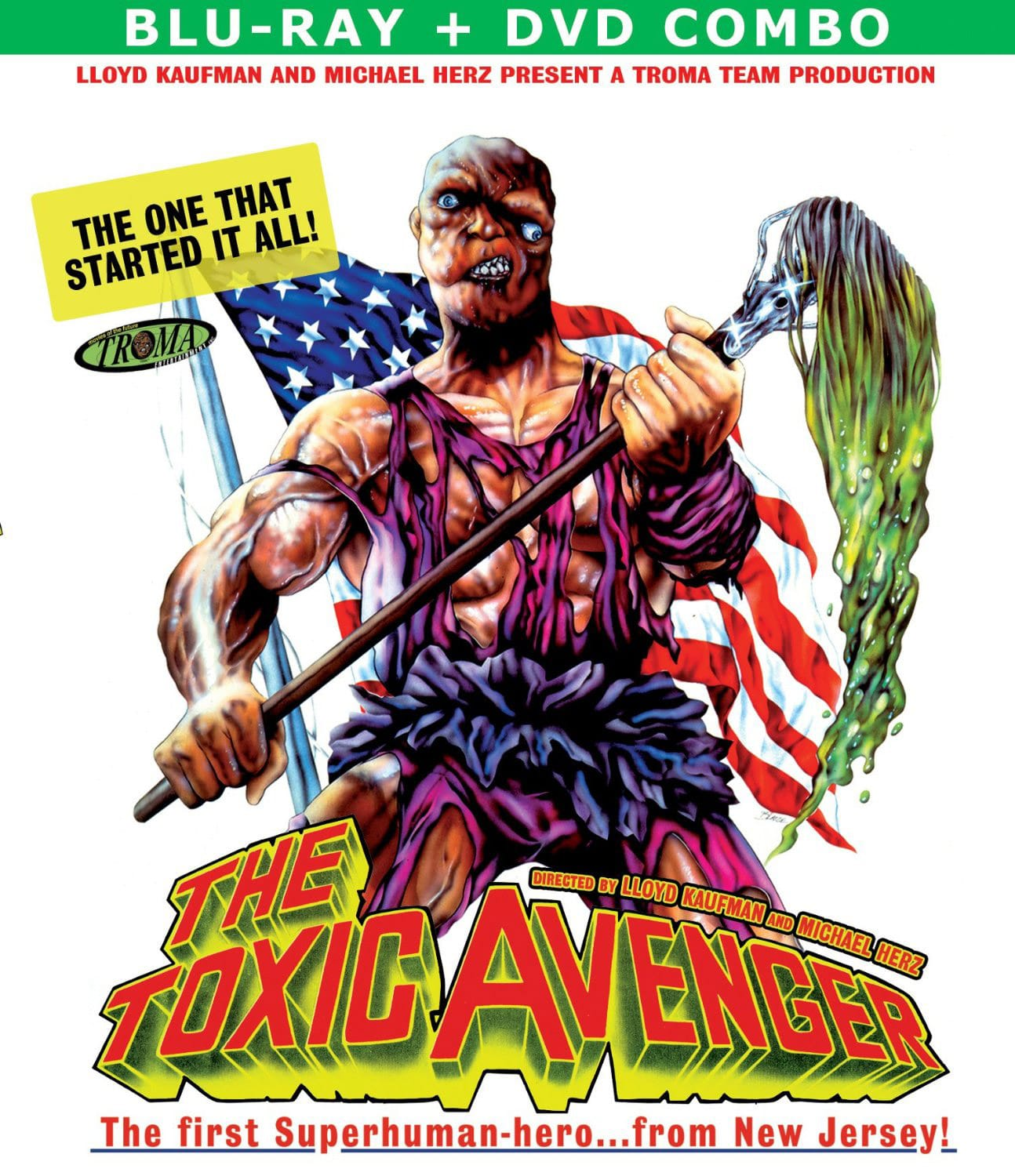 The Toxic Avenger on Blu-ray
