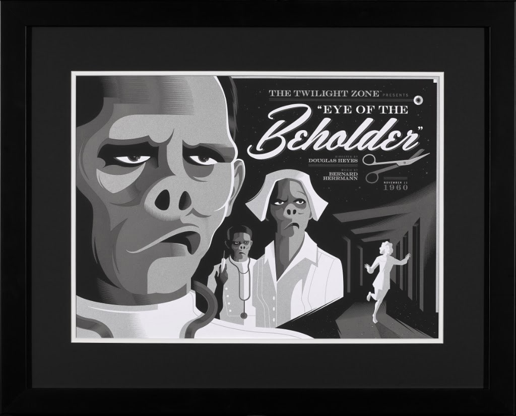 Twilight Zone TV Show Print Series Variants