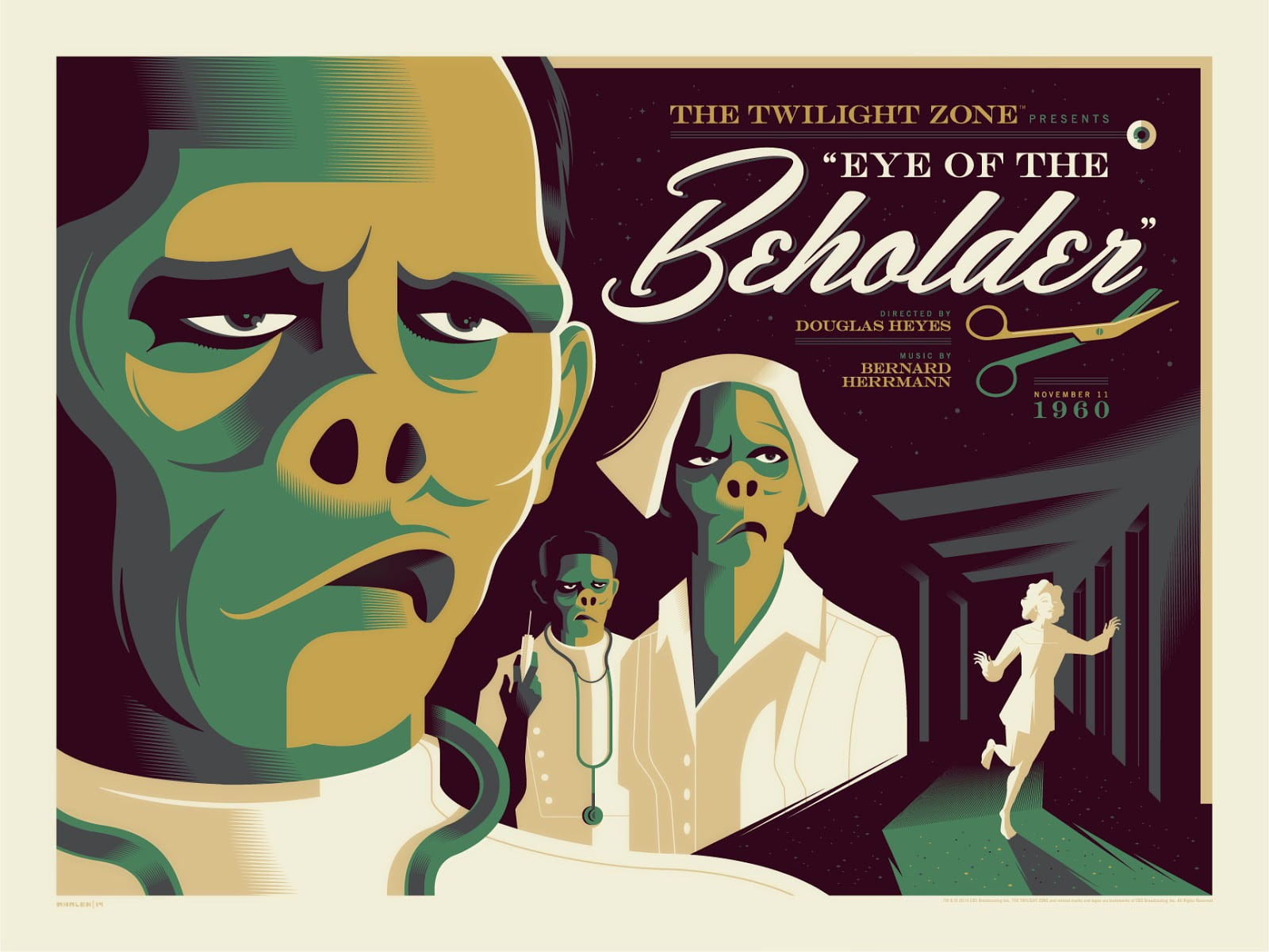 Twilight Zone TV Show Print Series