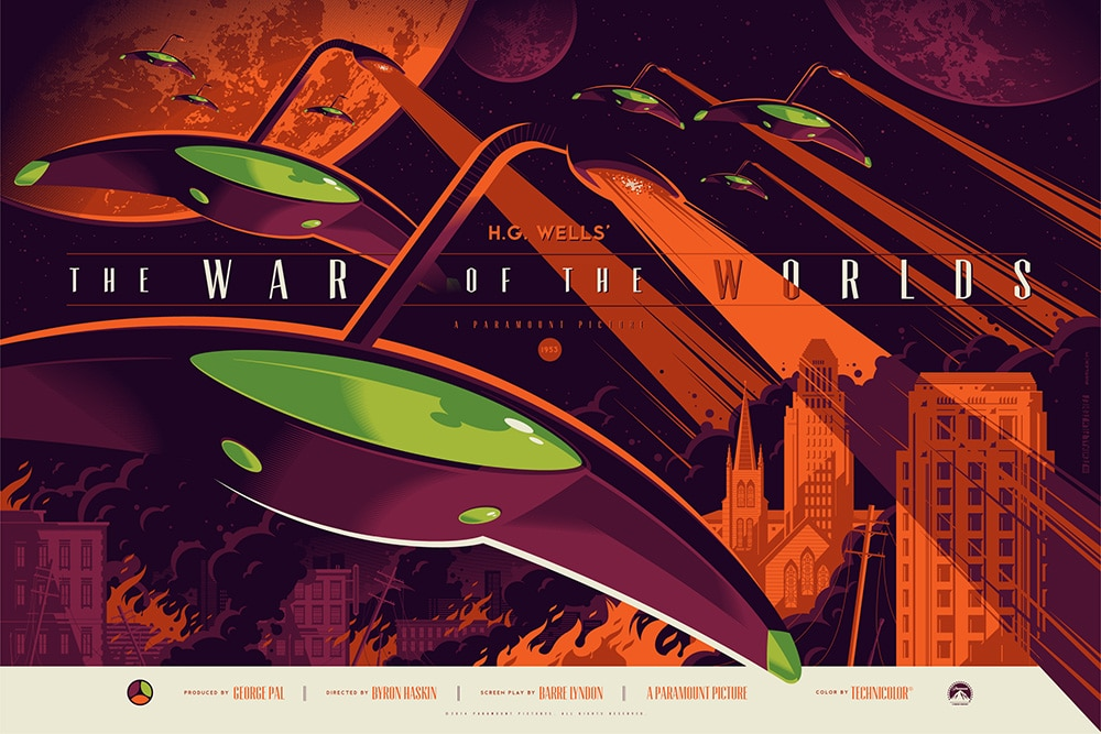 The War of the Worlds Movie Poster