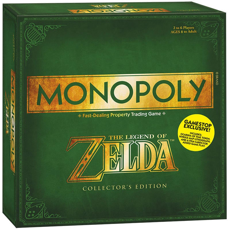 Zelda Monopoly Game Box