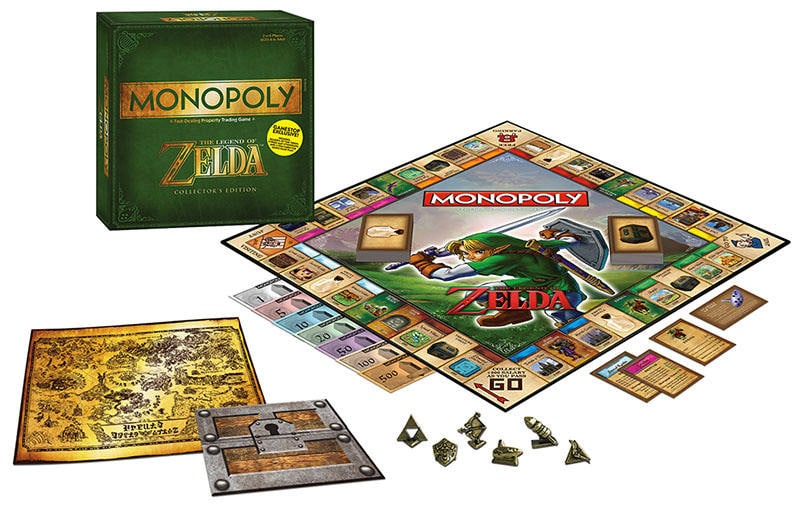 Zelda Monopoly Game Set