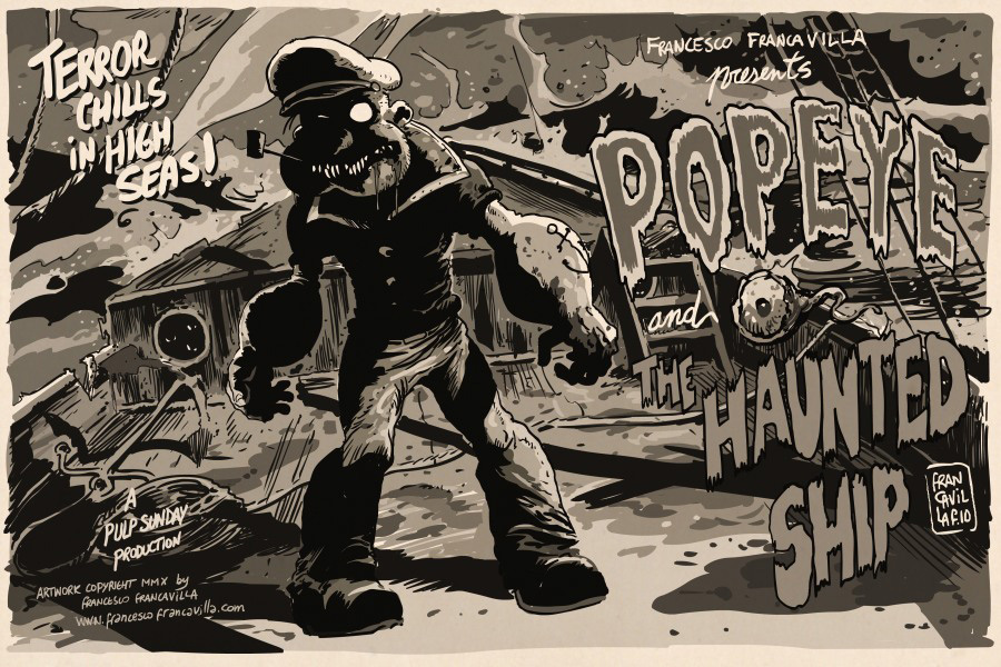 Popeye Tribute Art Show Print 13