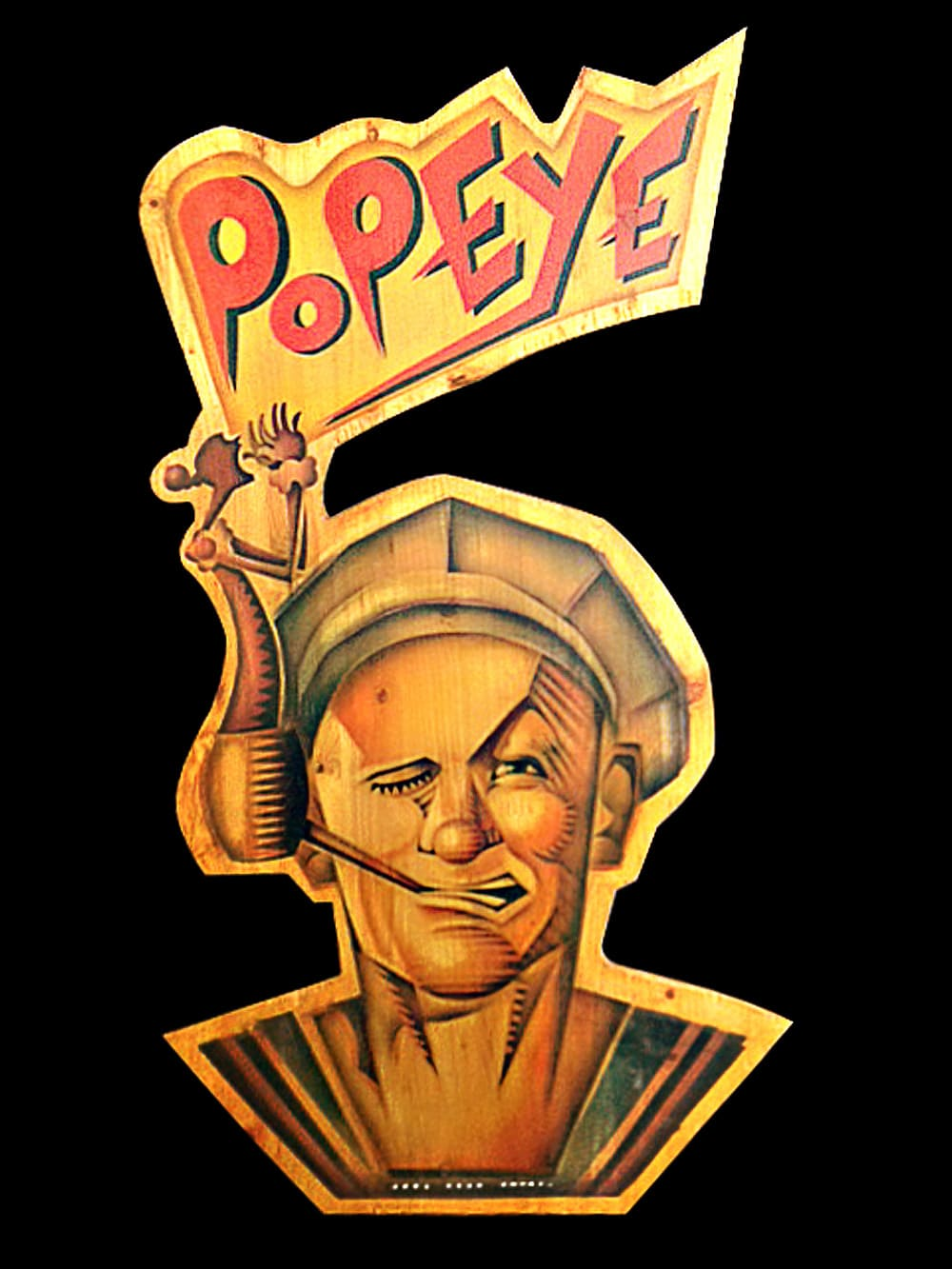 Popeye Tribute Art Show Print 6