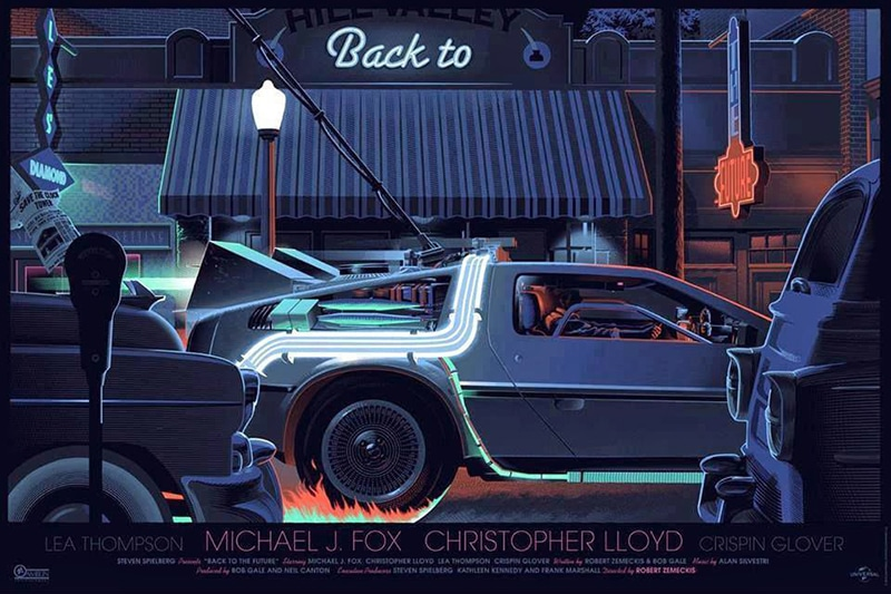 Back to the Future Print by Laurent Durieux