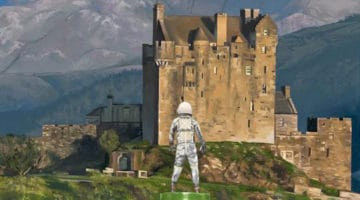 Castle Print by Scott Listfield