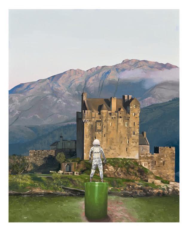 Castle Print by Scott Listfield
