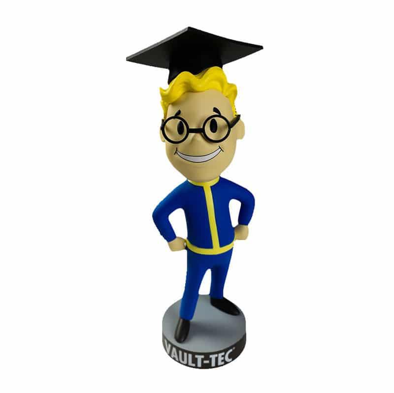 Intelligence Fallout Skill Bobblehead