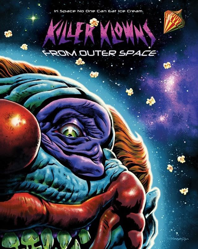 Killer Klowns from Outr Space Skuzzles Movie Cover