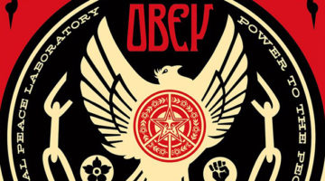 Peace & Freedom Dove Print by Obey