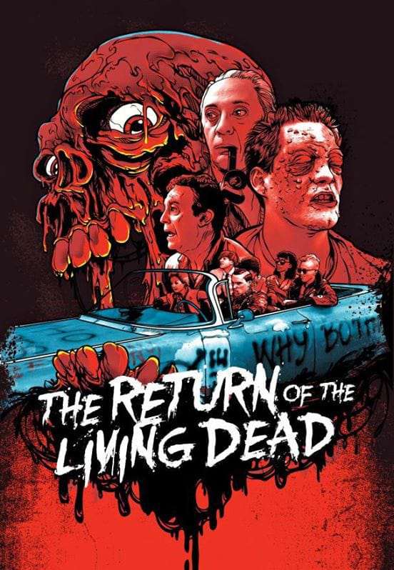Return of the Living Dead Skuzzles Slip Cover