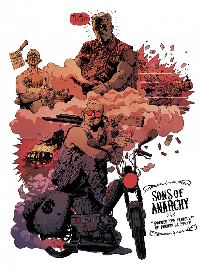 Sons of Anarchy Tribute Art 4