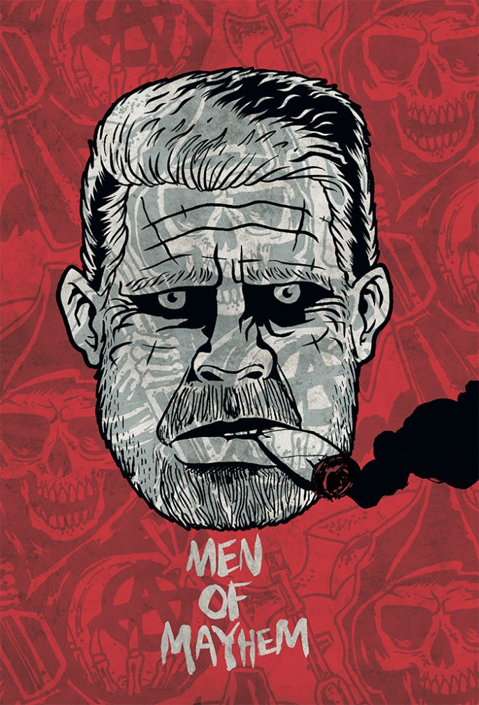 Sons of Anarchy Tribute Art 5