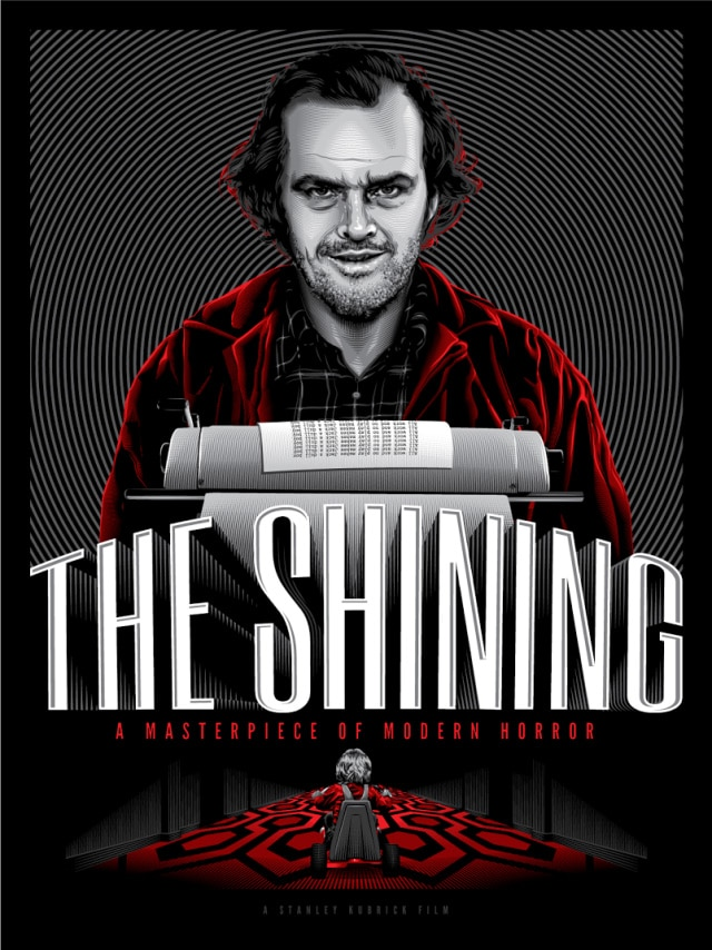 The Shining Movie Print