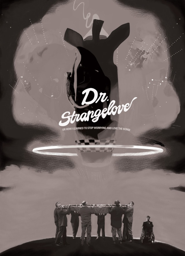 Kubrick Dr Stangelove Movie Poster