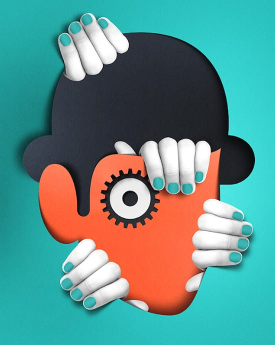 Clockwork Orange Movie Print