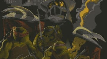 Mondo TMNT Prints from Whalen, Kelly, Richard and Kolb