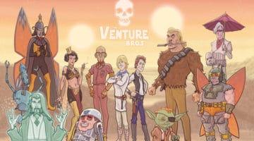 Venture Bros/Star Wars Mashup Print