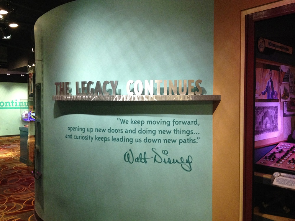 Walt Disney One Man's Dream Exhibit 16