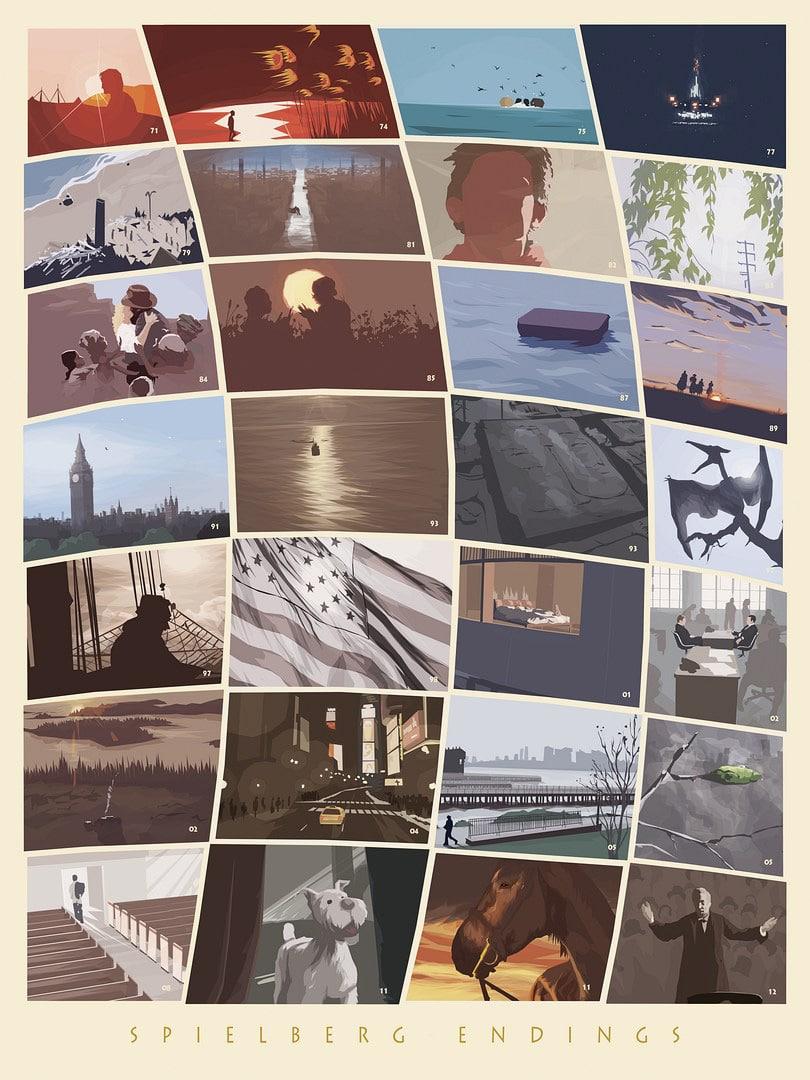 Spielberg Endings Print
