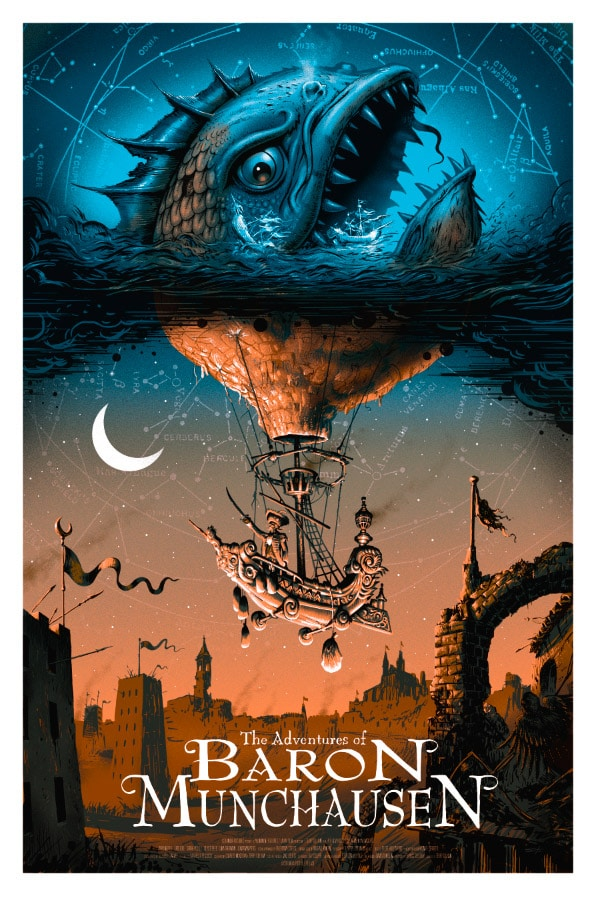 The Adventures Of Baron Munchausen Poster Missed Prints