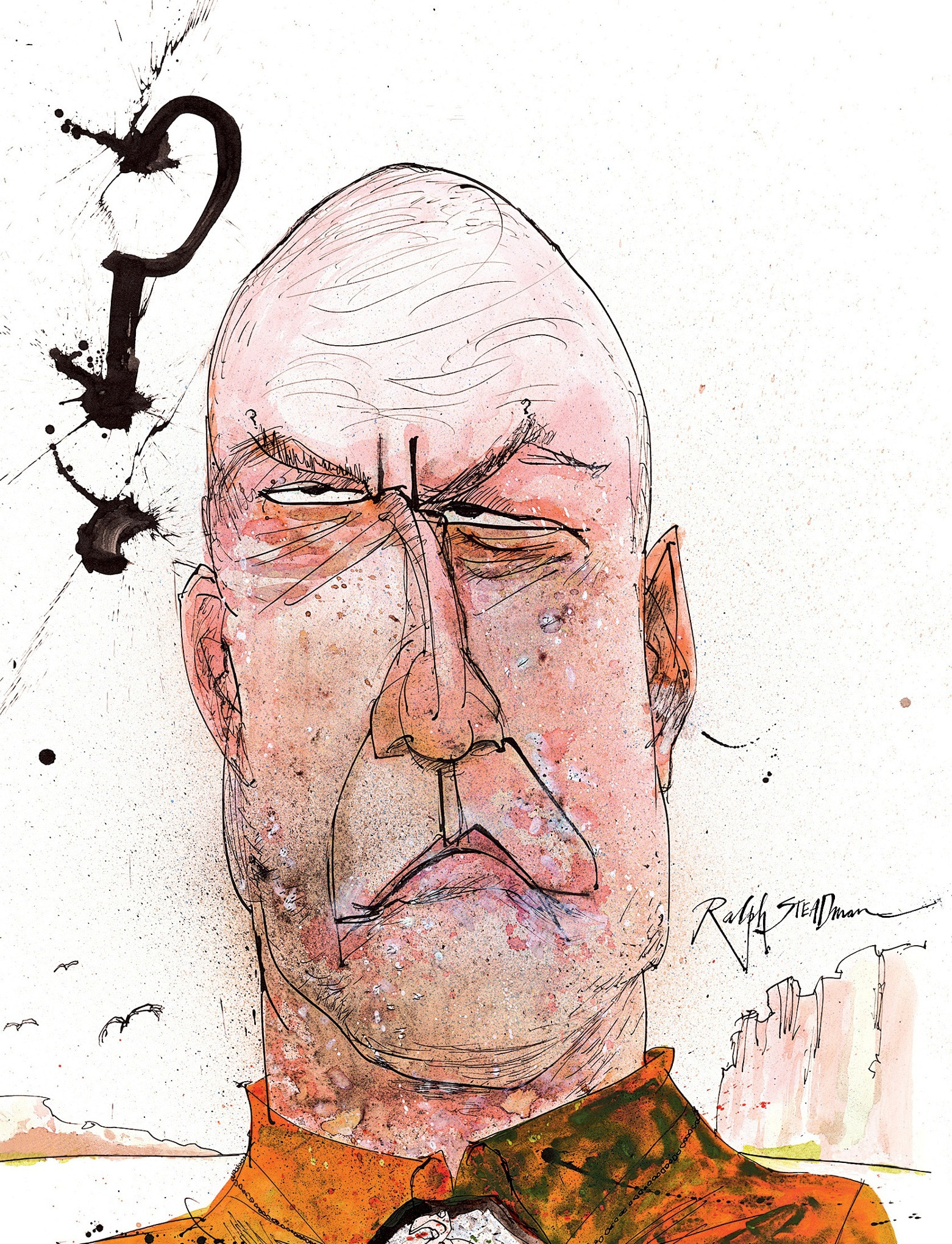 Ralph Steadman Hank Breaking Bad Blu-ray Cover