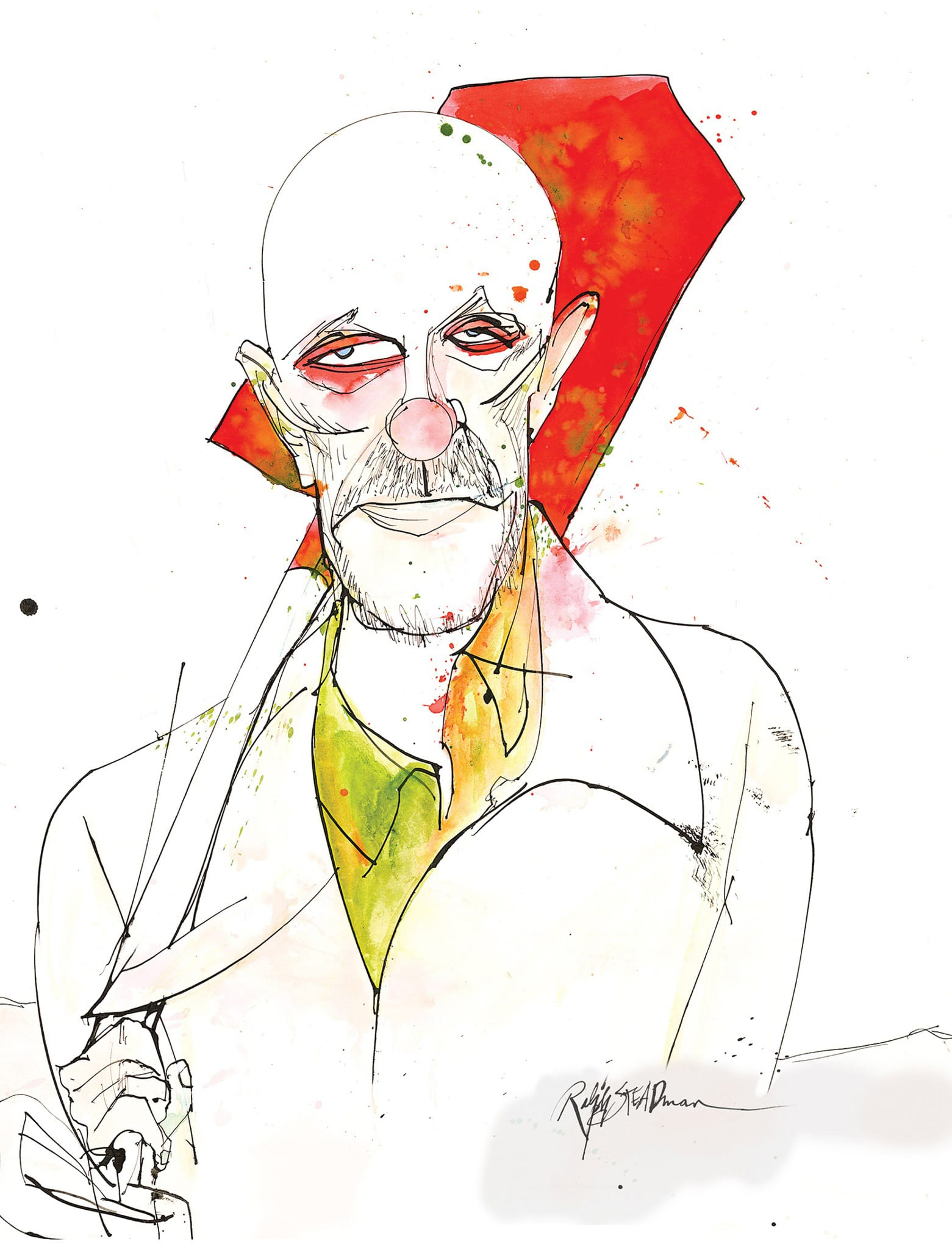 Ralph Steadman Mike Breaking Bad Blu-ray Cover