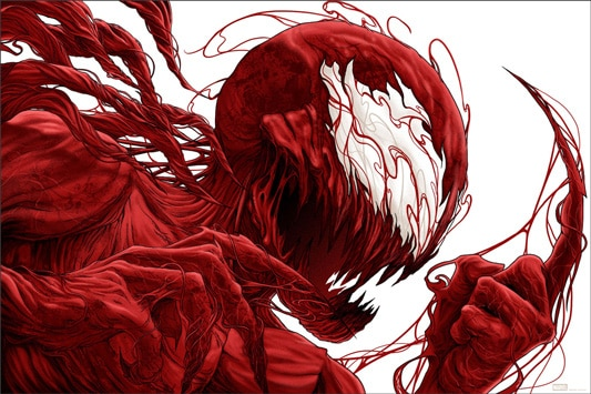 Carnage Spiderman Print