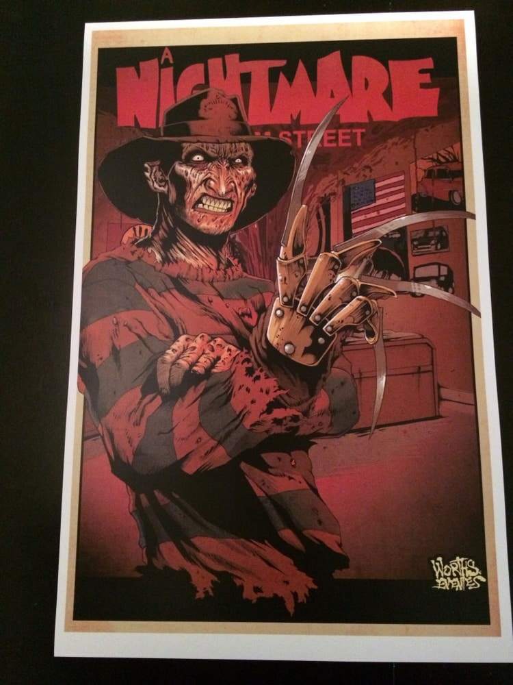 Freddy - Nightmare on Elm Street Poster