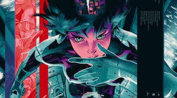 Ghost in The Shell, The Iron Giant and Spiderman Prints