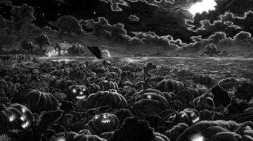 It's The Great Pumpkin, Charlie Brown Print by Nicolas Delort