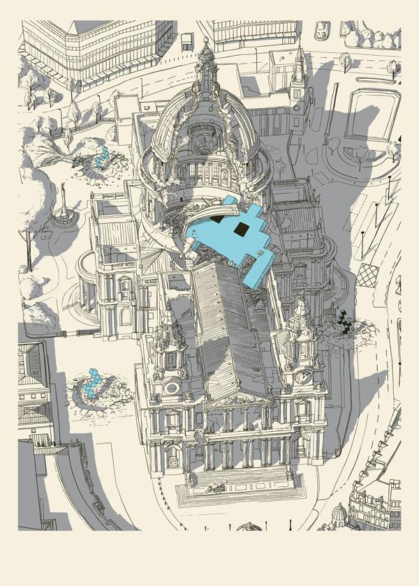 invasion-sci-fi-art-print-st-pauls