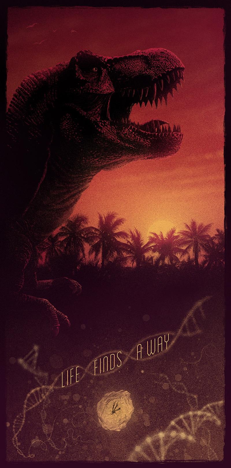 Jurassic Park Print