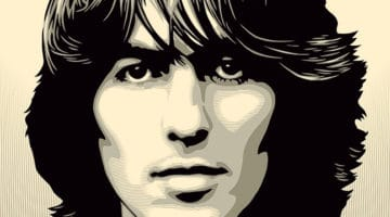 George Harrison Print by Obey