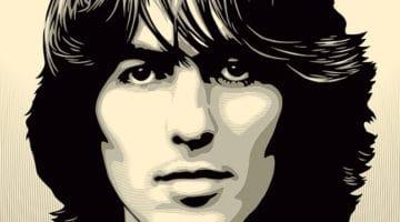 George Harrison Print by Obey