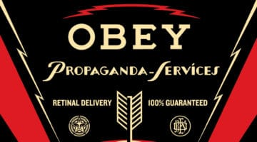 Propaganda Service Eye Print by Obey