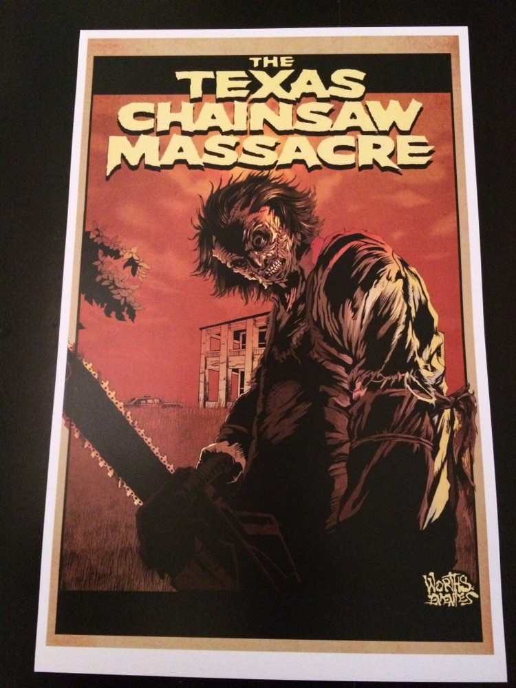 Texas Chainsaw Massacre Print