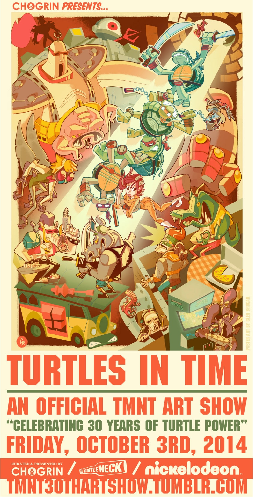 "Official TMNT ""Turtles in Time"" Art Show"