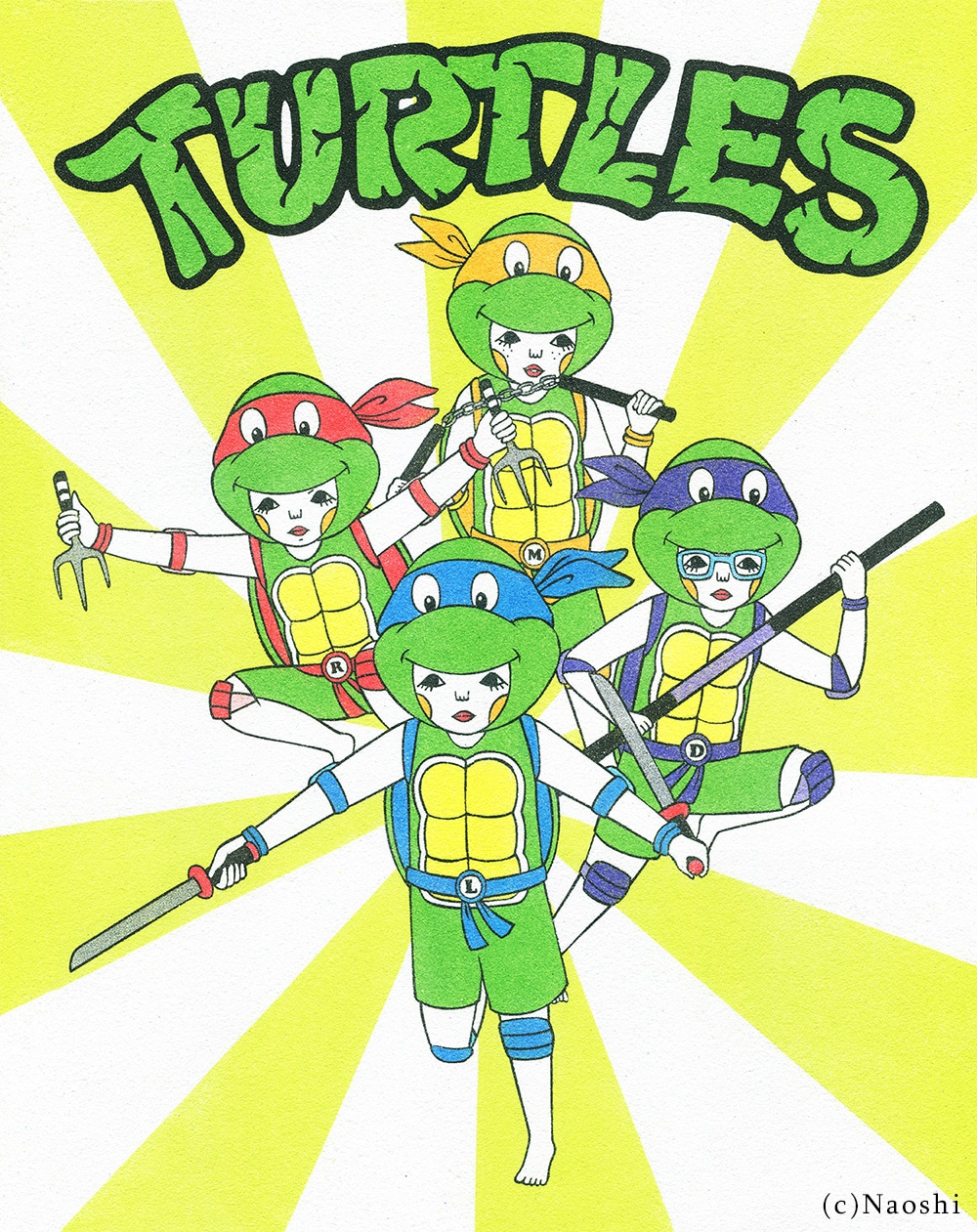 tmnt-turtles-in-time-print-naoshi
