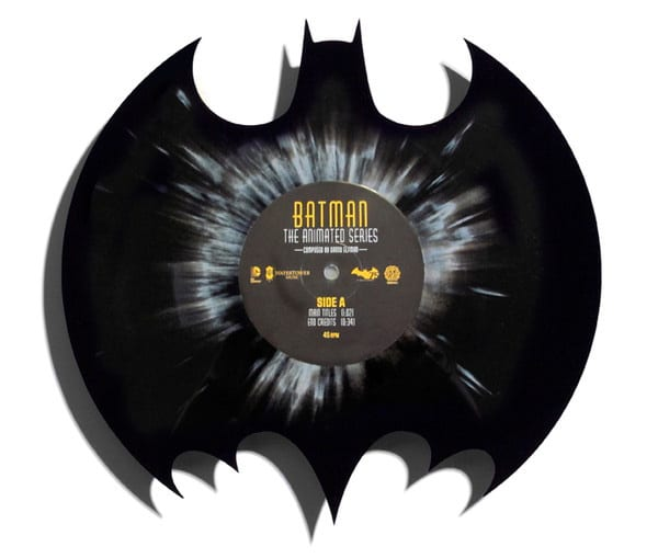 Batman LP Splatter Vinyl