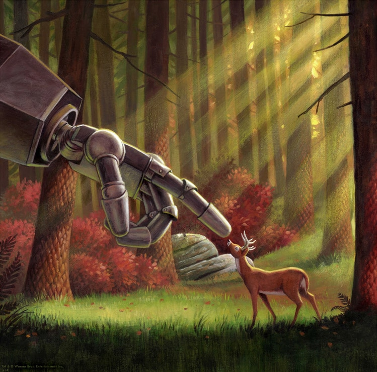 The Iron Giant Deer Poster