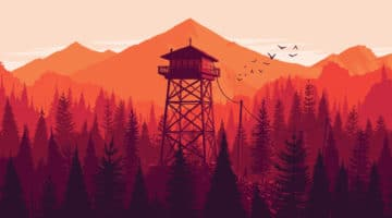 Firewatch Video Game Prints by Olly Moss