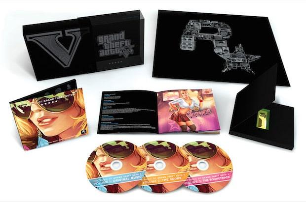 GTA V CD Soundtrack Set